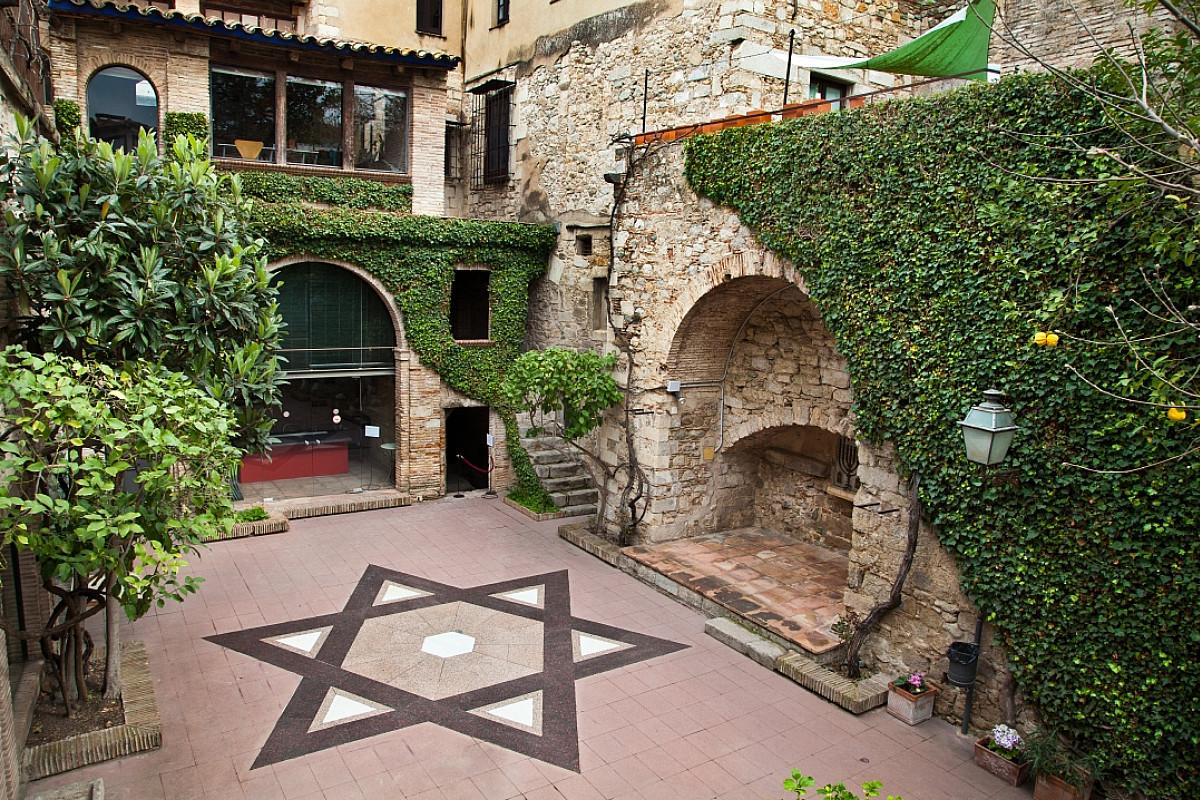 Patio del Barrio Judío de Girona