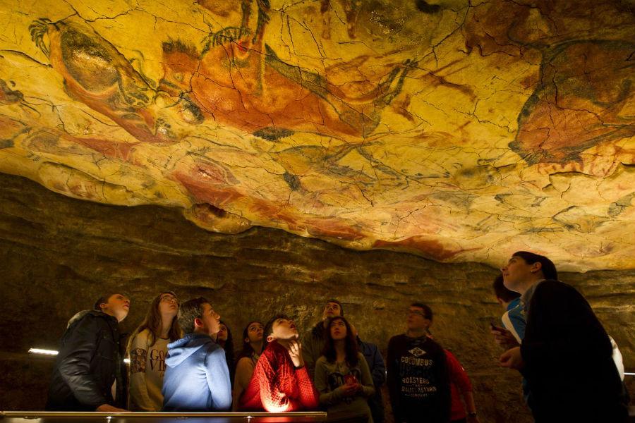 Visitamos, en familia, las Cuevas de Altamira