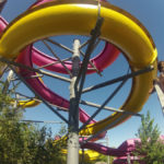 Un día en el parque Aquopolis con niños