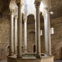 Instalaciones de los Baños Árabes de Girona