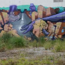 Graffiti en Santander