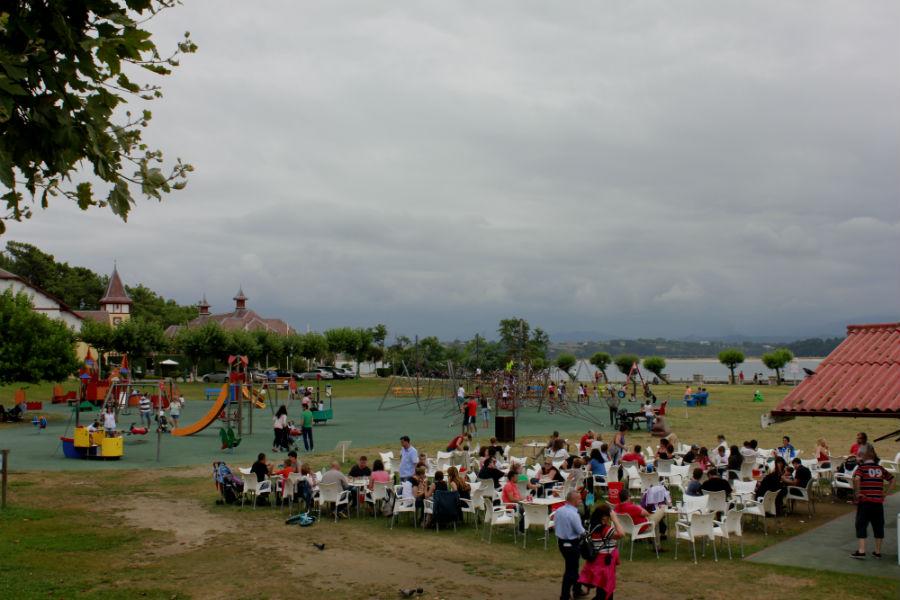 Parque en la Península de la Magdalena, en Santander