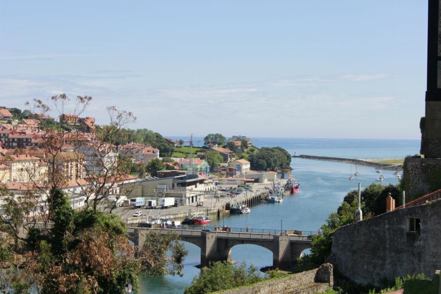 Vistas de San Vicente de la Barquera