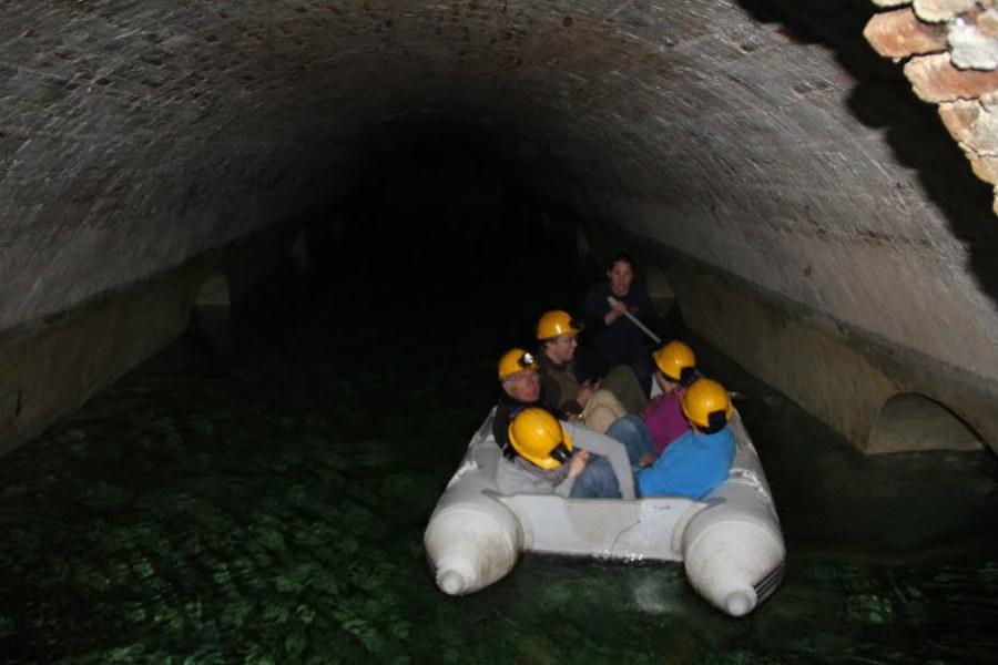 Depósito de agua del Castillo de Sant Ferrán, en Figueres