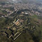 Vista aérea del Castillo de Sant Ferrán, en Figueres