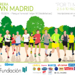 Cartel de la VI Carrera Solidaria Down Madrid