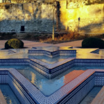 Detalle de la Muralla Árabe de Madrid