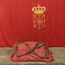 Cadenas de la colegiata de Roncesvalles
