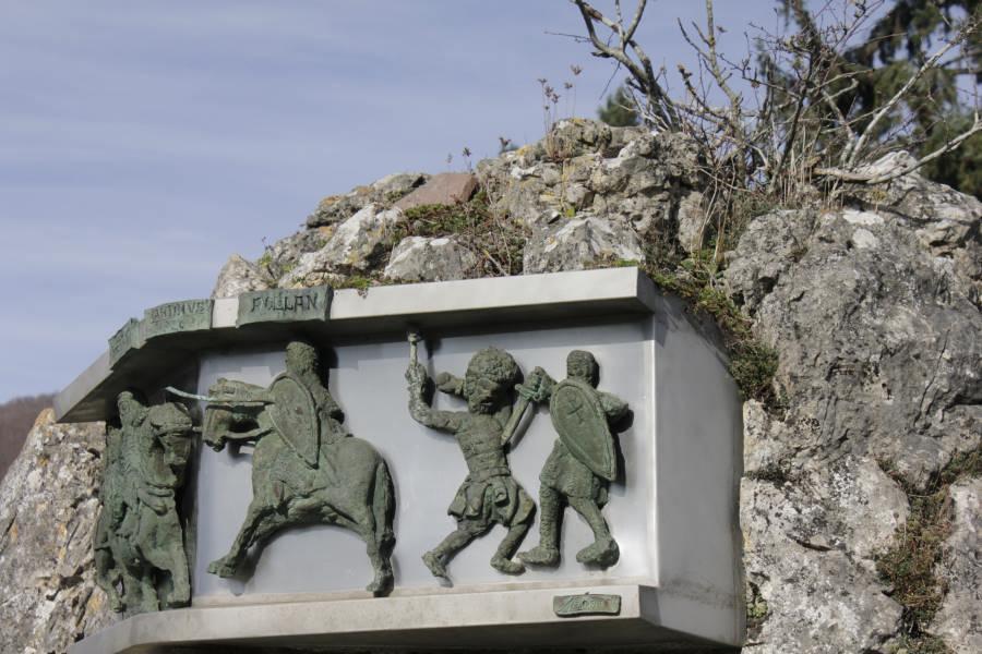 Roncesvalles es un punto clave en el Camino de Santiago