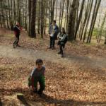 Un día en la Selva de Irati con los niños