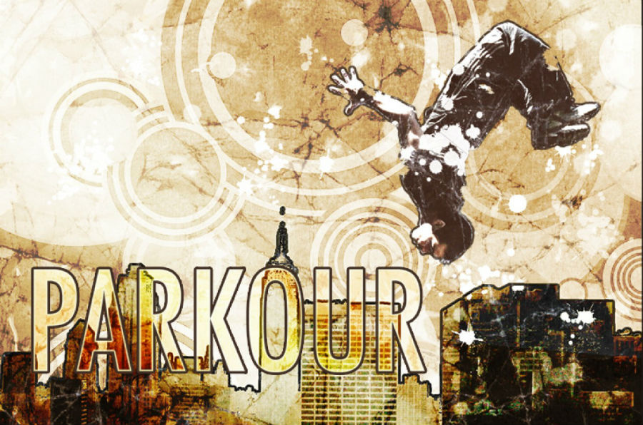 Cartel de Cropped-Parkour
