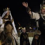 Salou vuelve a la época medieval con un espectáculo audiovisual
