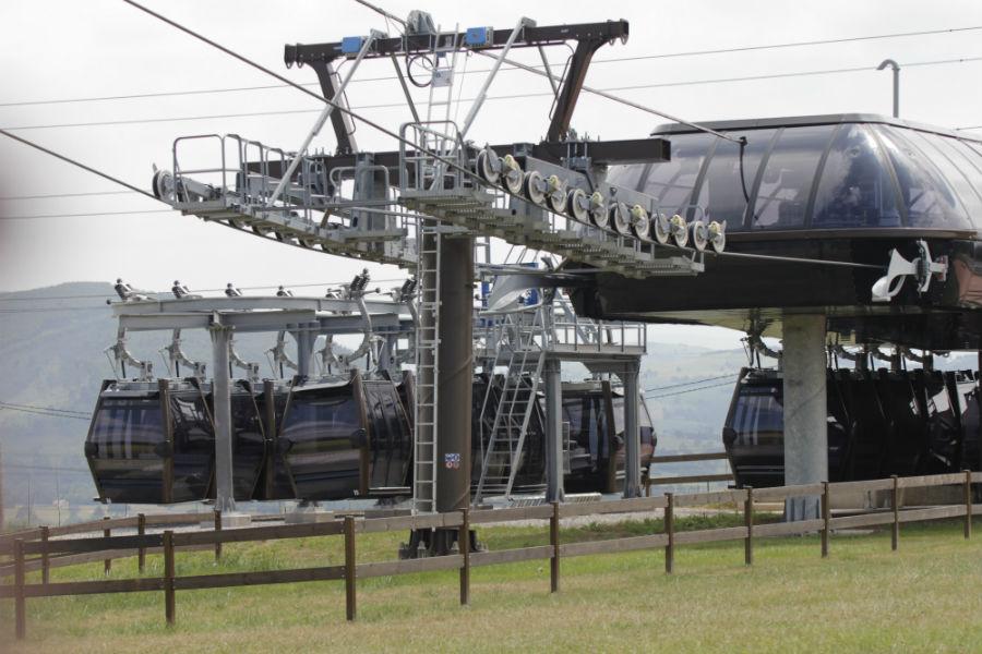 Estaciones del Teleférico de Cabárceno