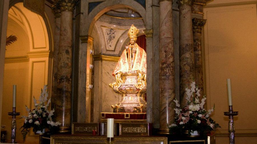 Capilla de San Fermín, en la Iglesia de San Lorenzo, en Pamplona