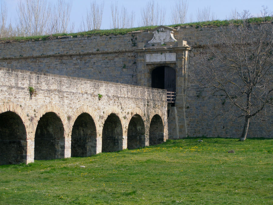 Detalle de la Ciudadela de Pamplona