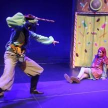 Escena del musical infantil 'Hansel y Gretel'