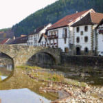 Vistas de Ochagavía, en Navarra