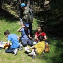 Ruta con niños por Cercedilla