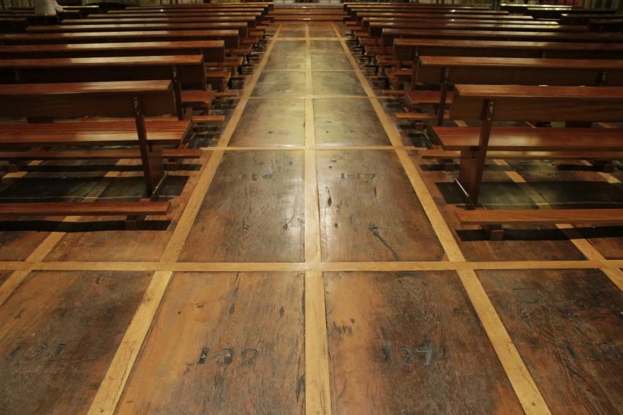 Interior de la Iglesia de San Cernín
