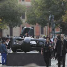 Escultura moderna en Pamplona