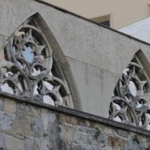 Detalle de la Catedral de Pamplona