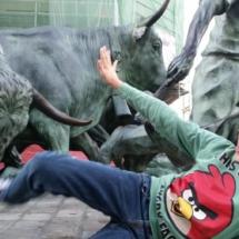 Monumento a los encierros de San Fermín