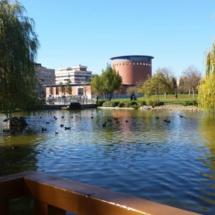 Parque Yamaguchi, en Pamplona