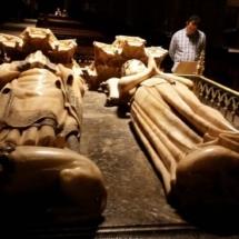 Mausoleo Real de la Catedral de Pamplona