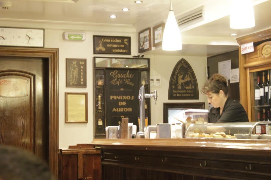 Bar de pinxos en Pamplona