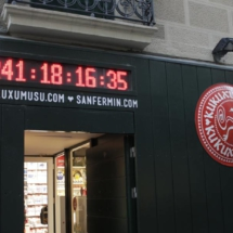 Reloj de cuenta atrás para los encierros de Pamplona