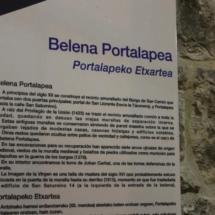 Restos de la muralla medieval de Pamplona