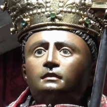 Detalle de la imagen de San Fermín de Pamplona