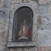 Imagen de San Fermín en hornacina