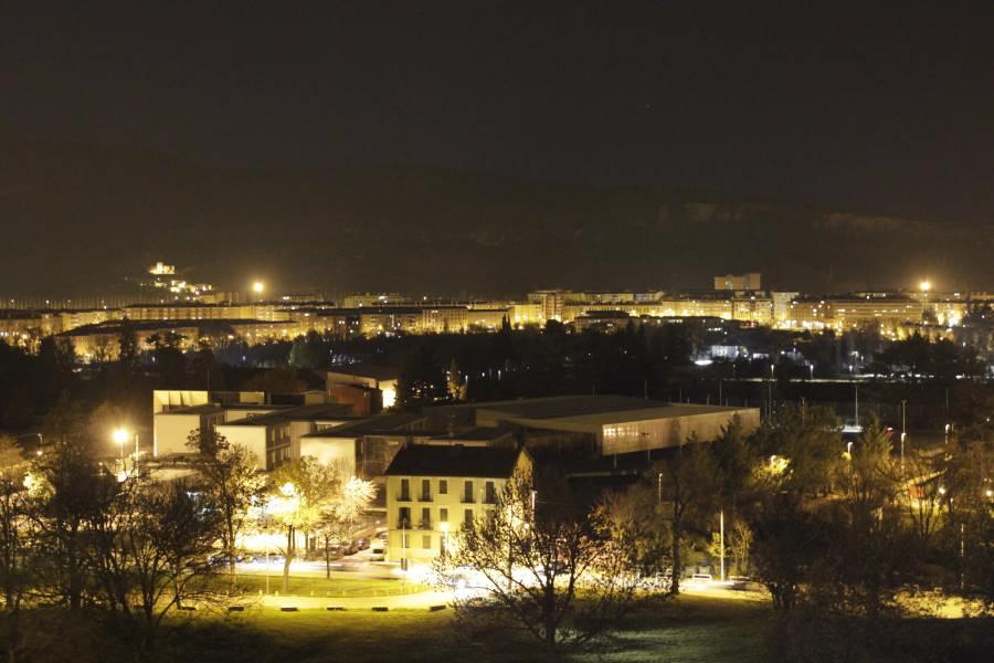 Vistas de Pamplona desde el Redín