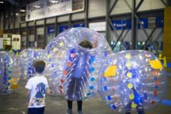 Actividad de burbujas en Juvenalia