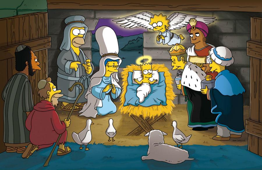 Reyes Magos en Los Simpson