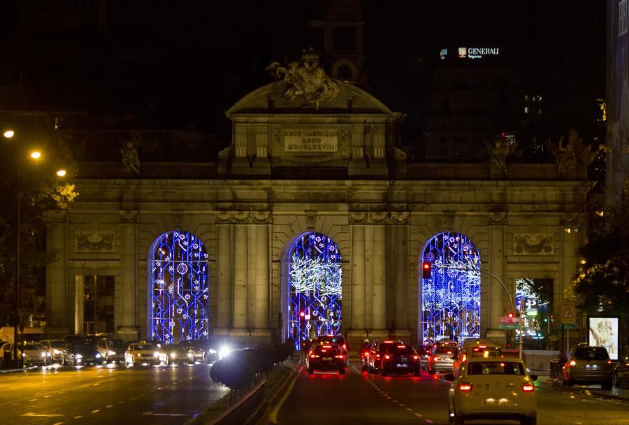 Luces de navidad madrid fechas y horarios 2017 2018 - Mercado de navidad en madrid ...