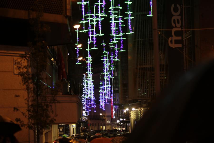 Luces de navidad a pie en coche o en naviluz - Iluminacion bilbao ...