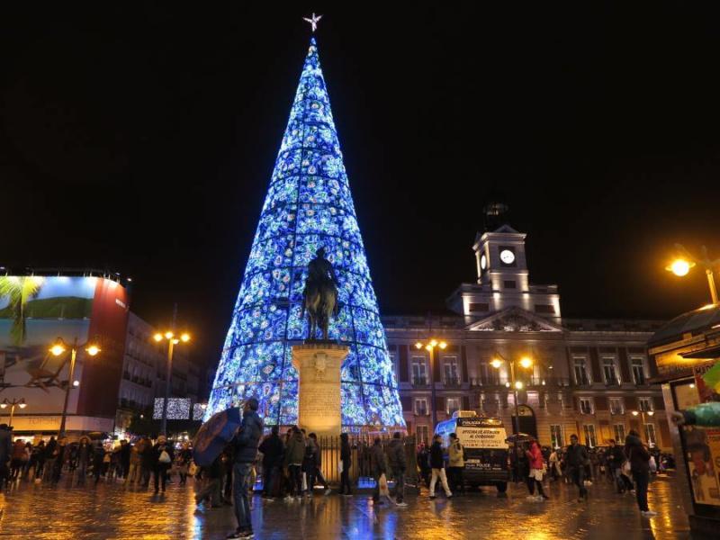 Luces de Navidad de Madrid, 2016-2017