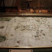 Primer mapa de la Historia en que se dibujaba América