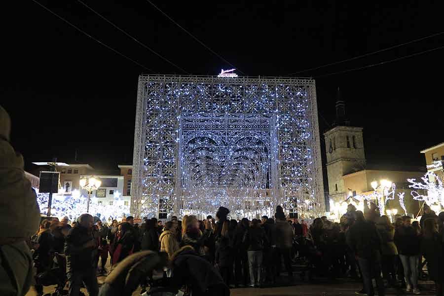 Navidad de Torrejón Puerta Mágica