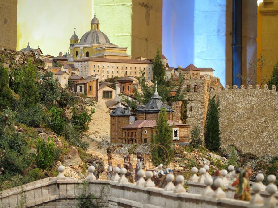Visita al bel n de la comunidad de madrid navidad 2016 Calle belen madrid