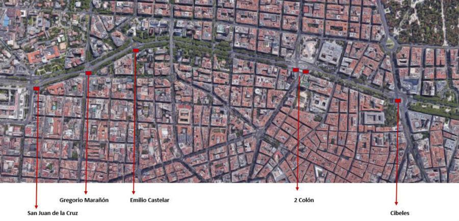 Zonas reservadas para personas con movilidad reducida en la Gran Cabalgata de Reyes de Madrid