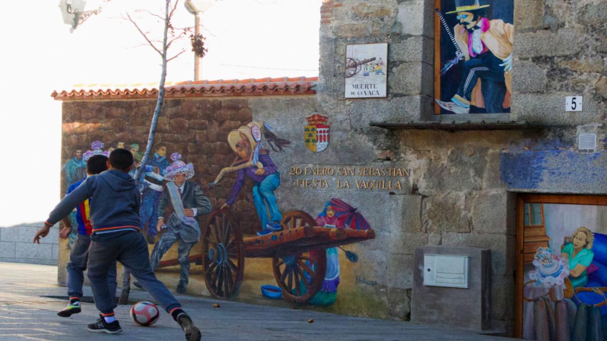 Plaza de Fresnedillas de la Oliva