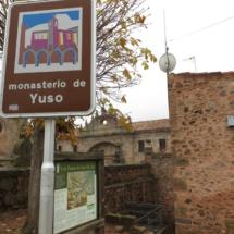 Cartel informativo del Monasterio de Yuso