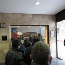 Oficina de venta de entradas para los Monasterios de San Millán de la Cogolla