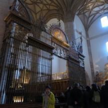 Luz equinoccial en el Monasterio de San Millán de la Cogolla de Yuso