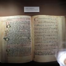 Manuscrito con tinta de vino en San Millán de la Cogolla