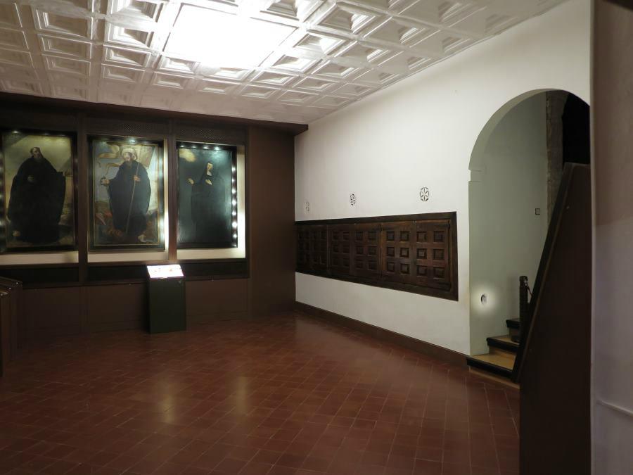 Gatera en el Monasterio de San Millán de la Cogolla
