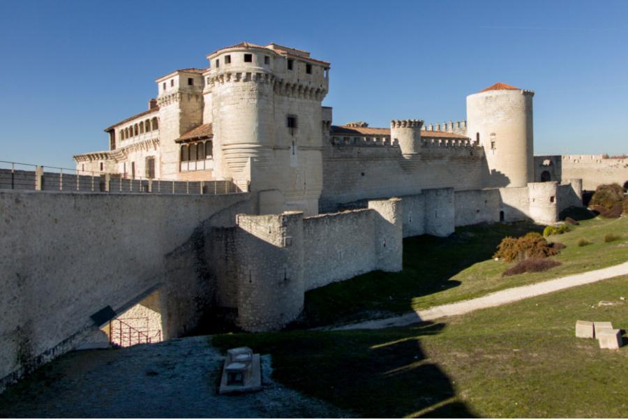 Vista del Castillo de Cuéllar